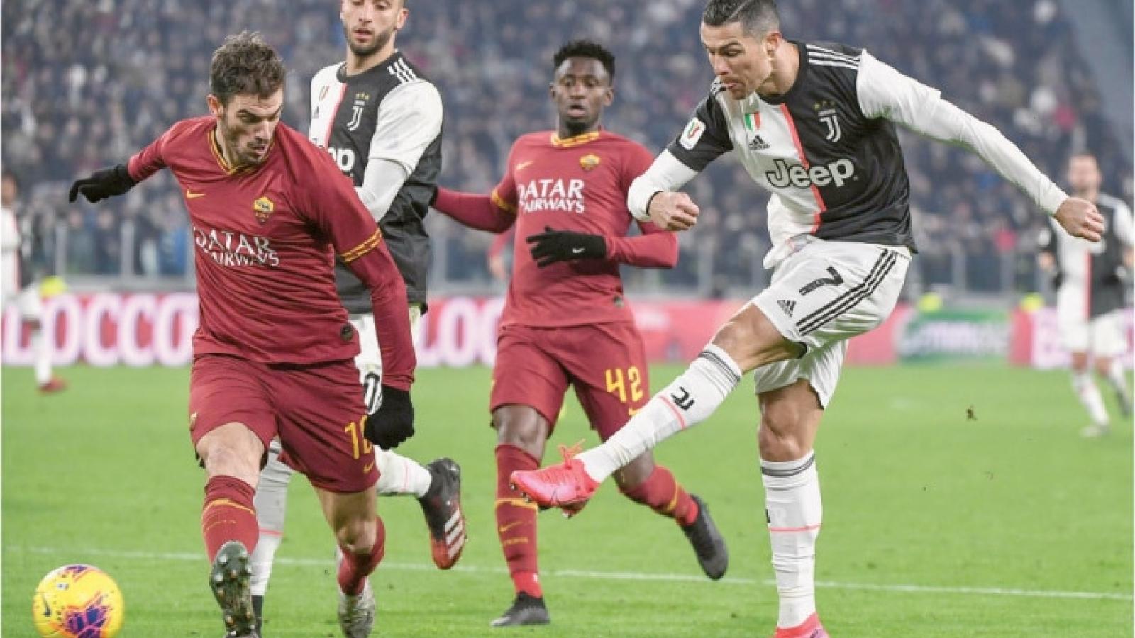 AS Roma - Juventus: Khách lấn chủ?