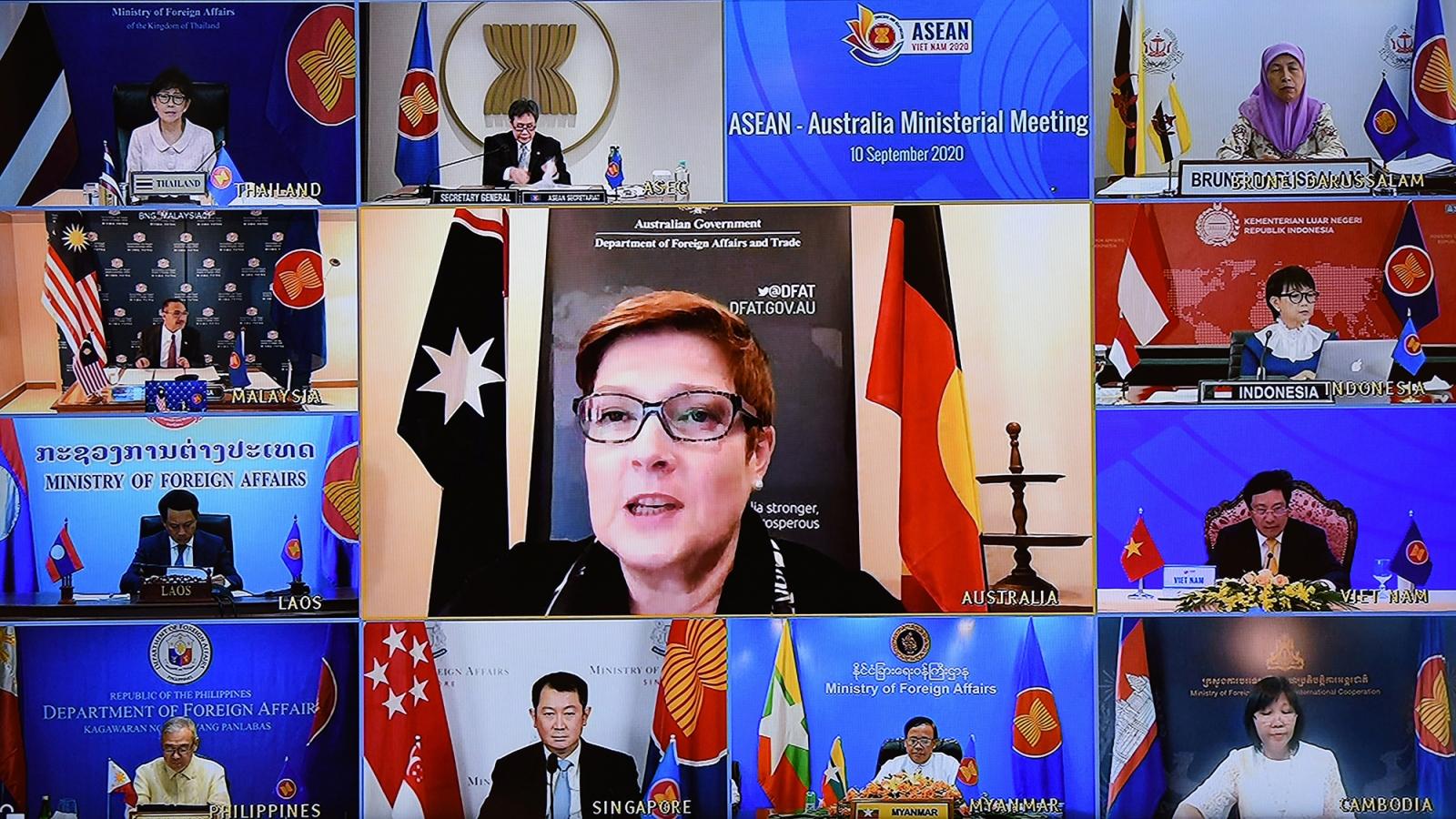 Australia đặt ASEAN ở trung tâm trong chiến lược ở khu vực Ấn Độ Dương-Thái Bình Dương