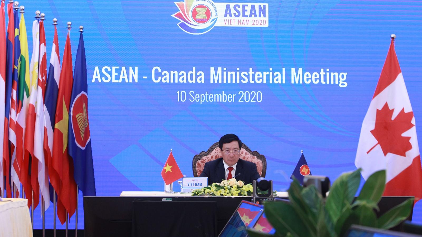 Hoa Kỳ, Canada ủng hộ ASEAN giải quyết vấn đề Biển Đông trên cơ sở luật pháp quốc tế