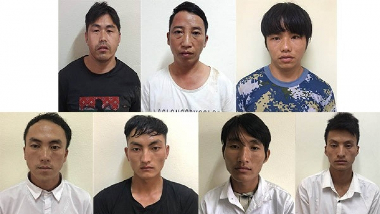 Seven arrested for trafficking minors into China
