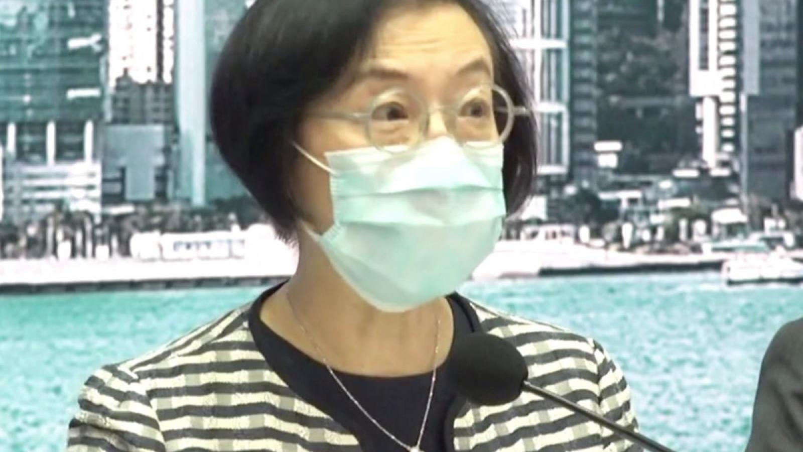 Hong Kong (Trung Quốc) nới lỏng các biện pháp hạn chế do dịch Covid-19
