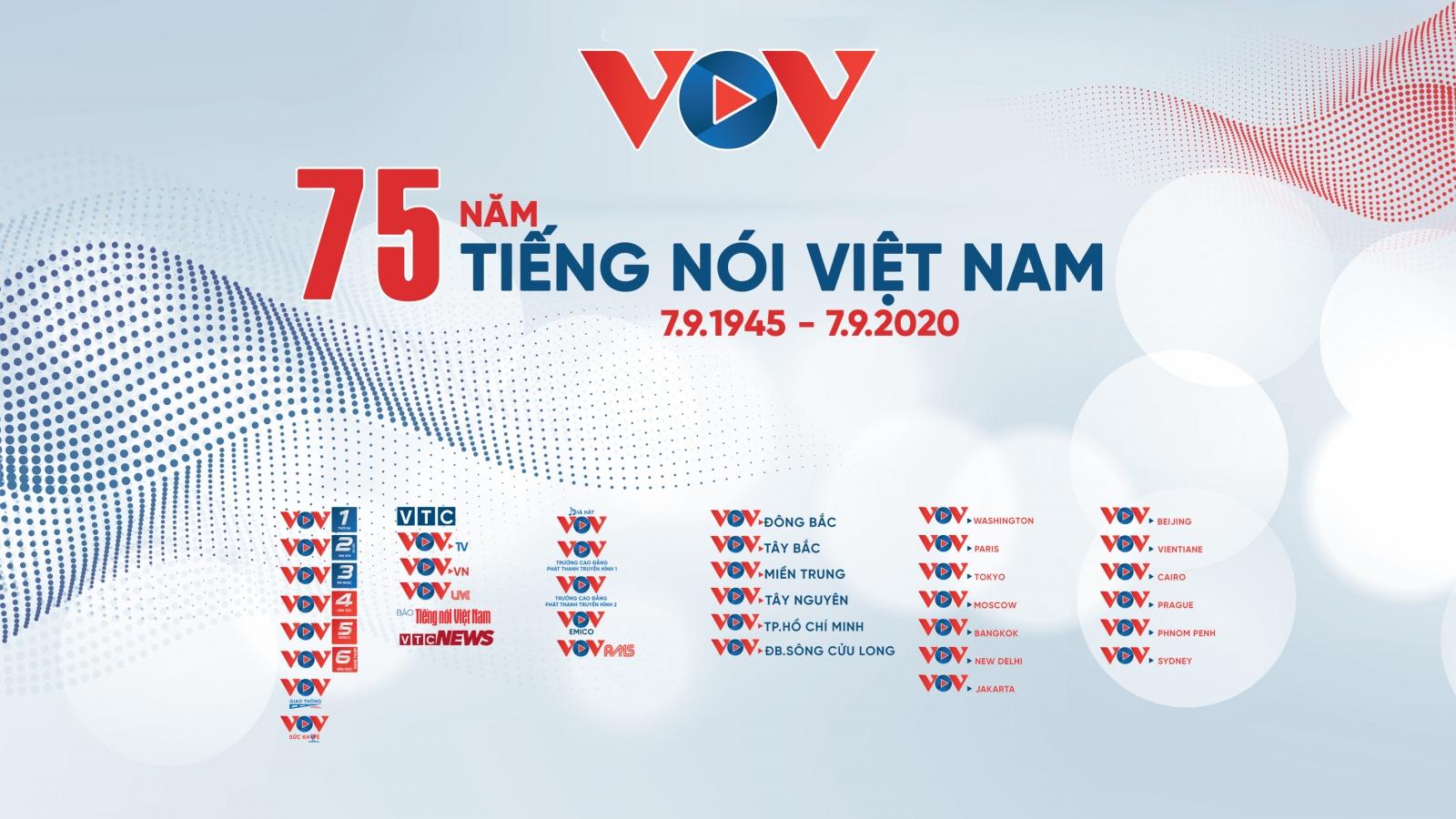 Logo mới VOV đánh dấu bước chuyển mình, tái định vị thương hiệu