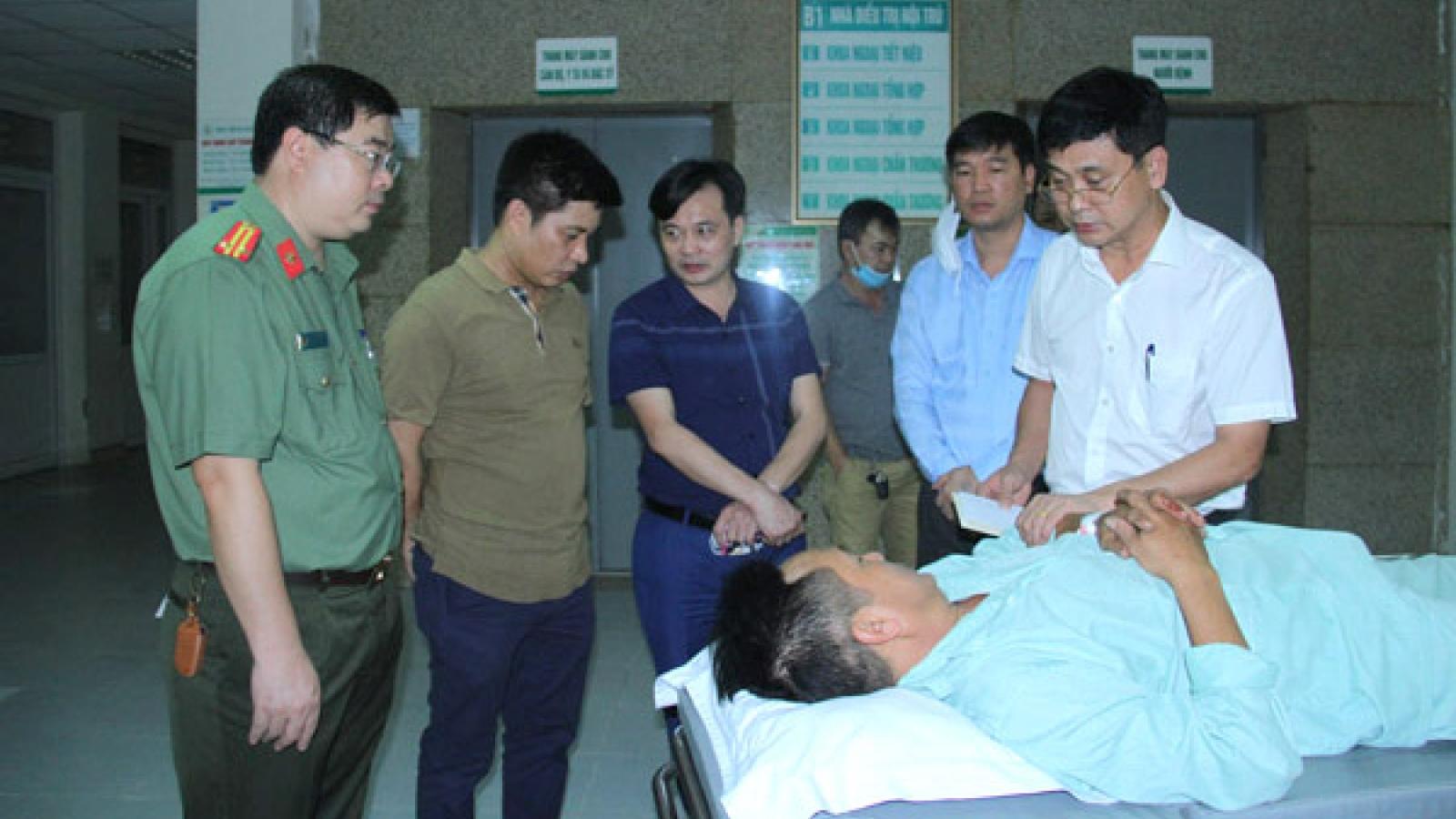 2 Công an xã ở Lào Cai bị đâm trọng thương khi bắt ma túy