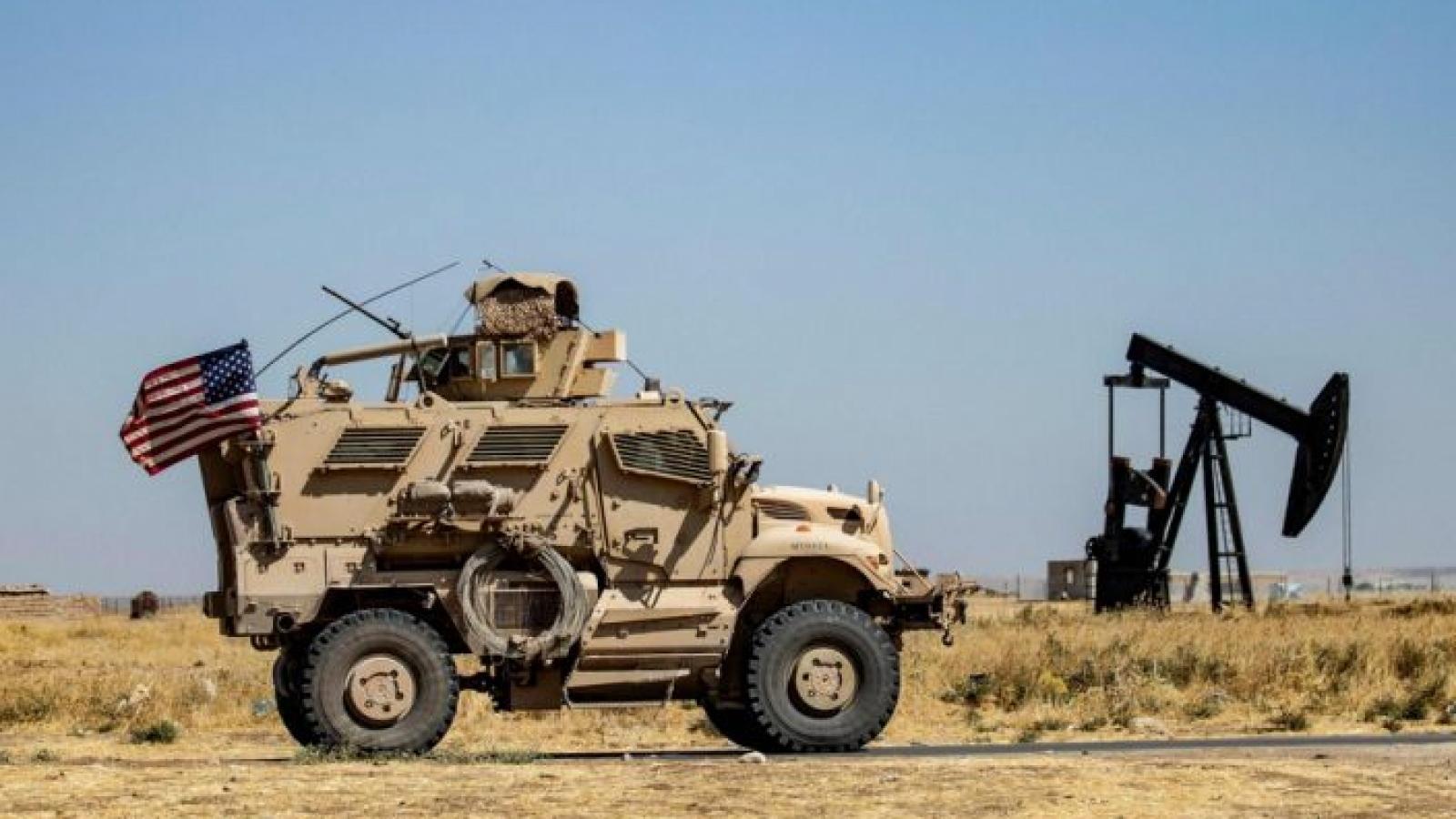 Mỹ điều quân và xe thiết giáp đến Syria để củng cố lực lượng