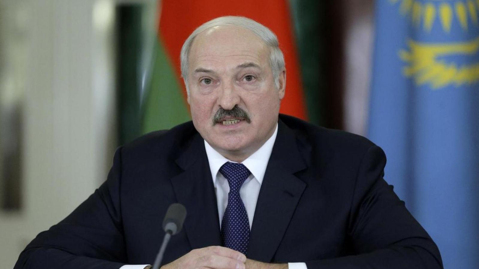 EU sẽ không đưa Tổng thống Belarus vào danh sách đen trừng phạt