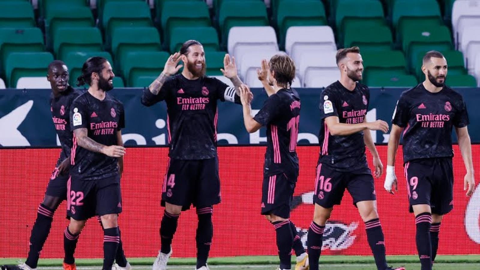 Ramos ghi bàn, Real Madrid thắng kịch tính Betis