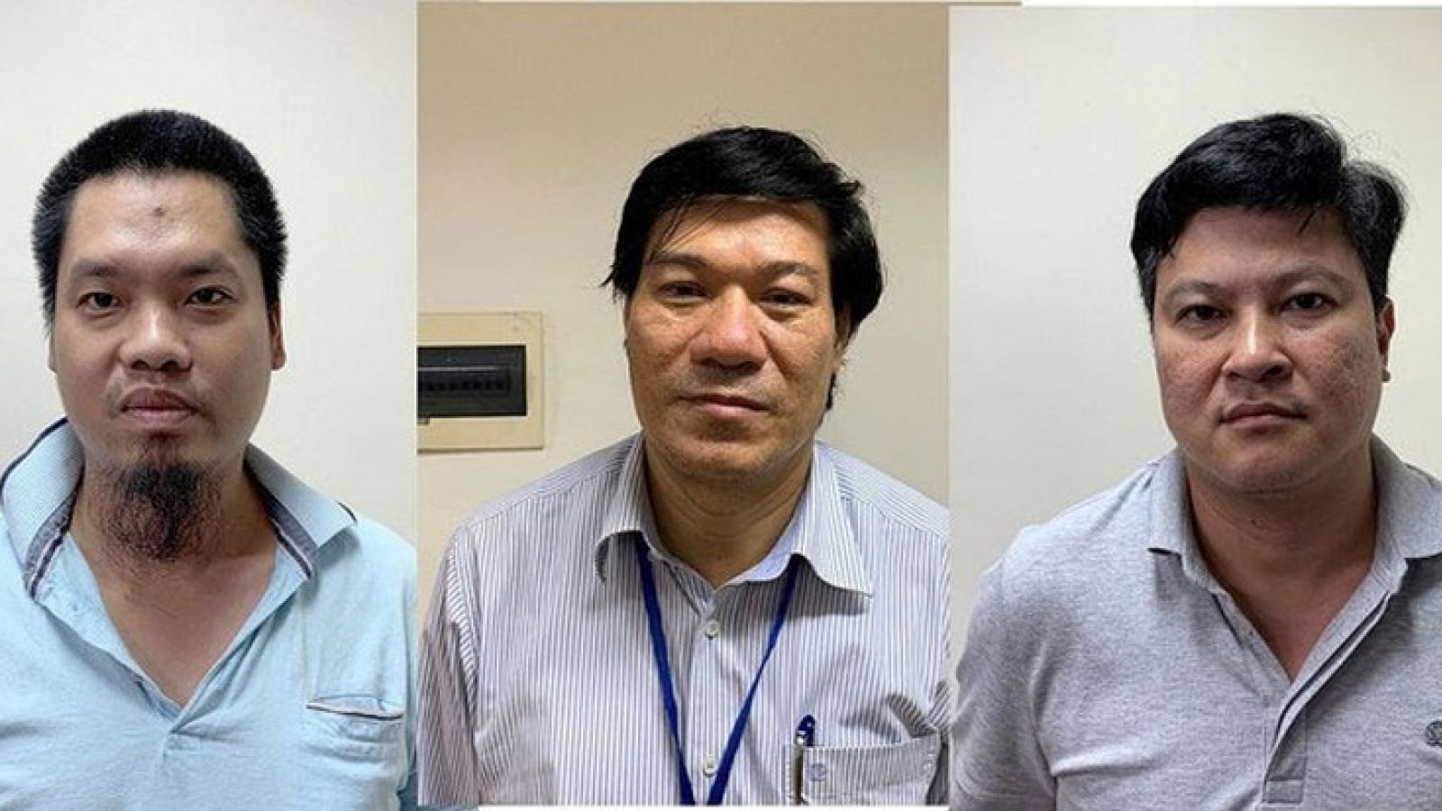 Cựu giám đốc CDC Hà Nội và đồng phạm nâng khống 5,4 tỷ đồng máy xét nghiệm Covid-19