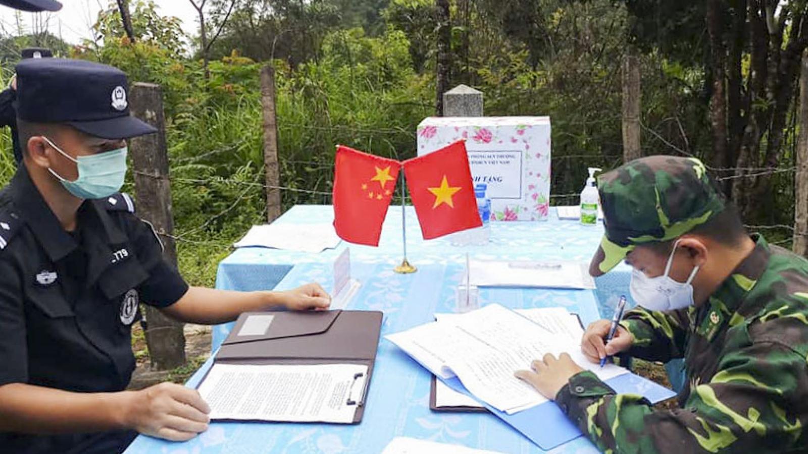Biên phòng Điện Biên hội đàm với Biên phòng Vân Nam - Trung Quốc