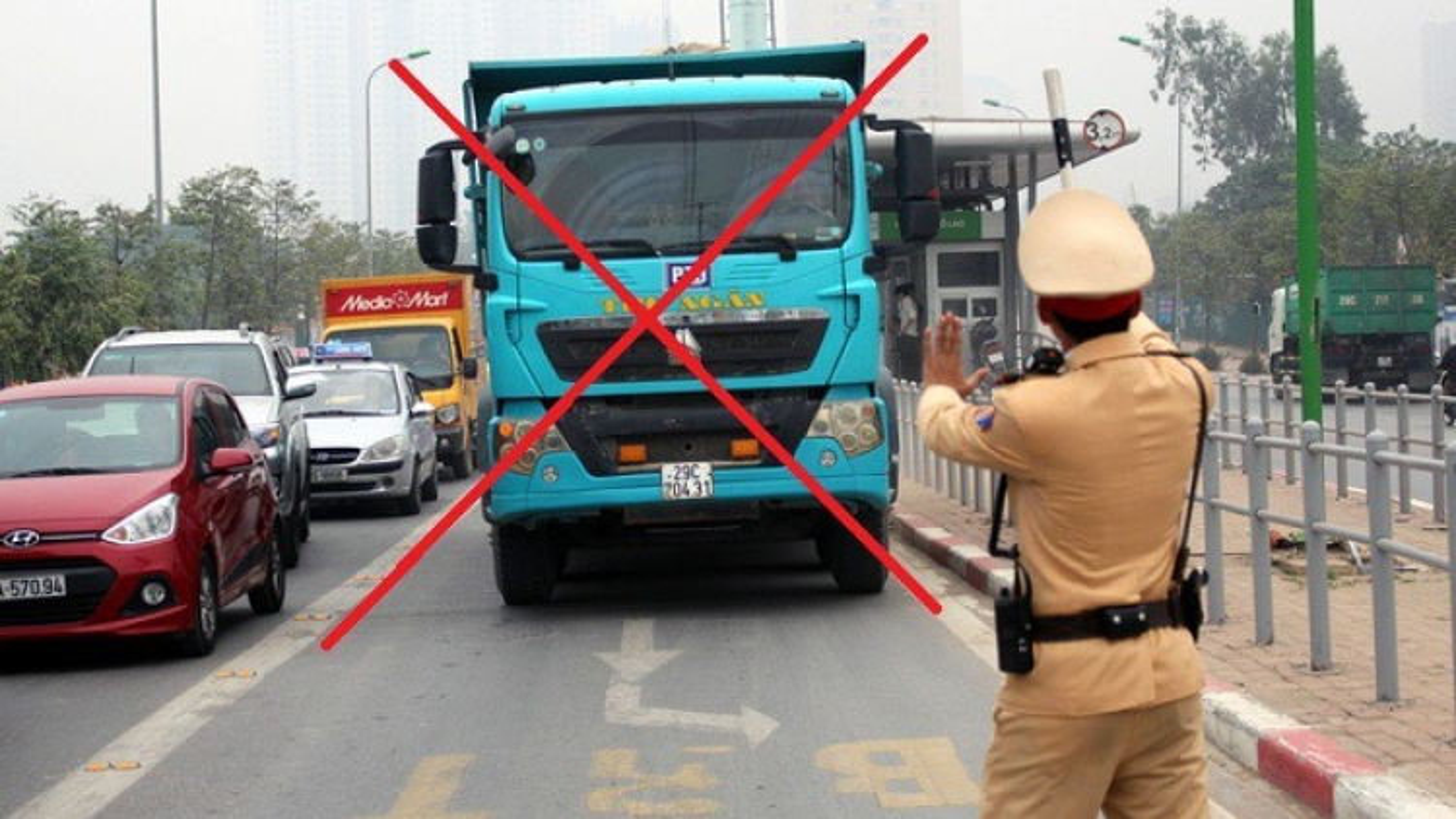 Đi vào làn đường BRT sẽ bị phạt cao nhất 5 triệu đồng