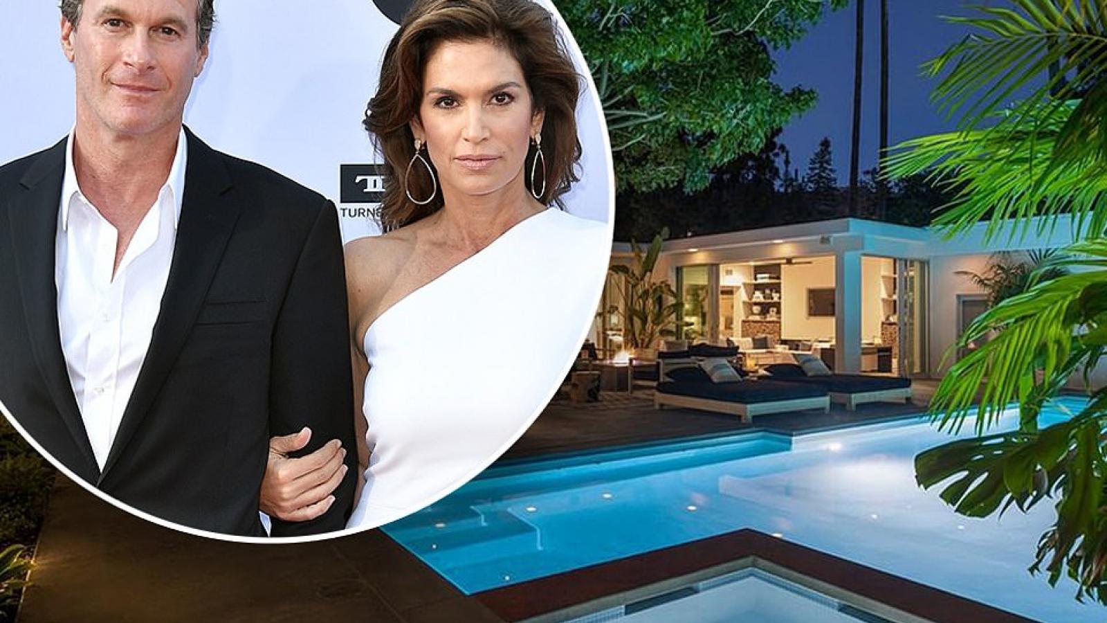 Ngắm căn biệt thự triệu đô xa hoa của vợ chồng siêu mẫu Cindy Crawford