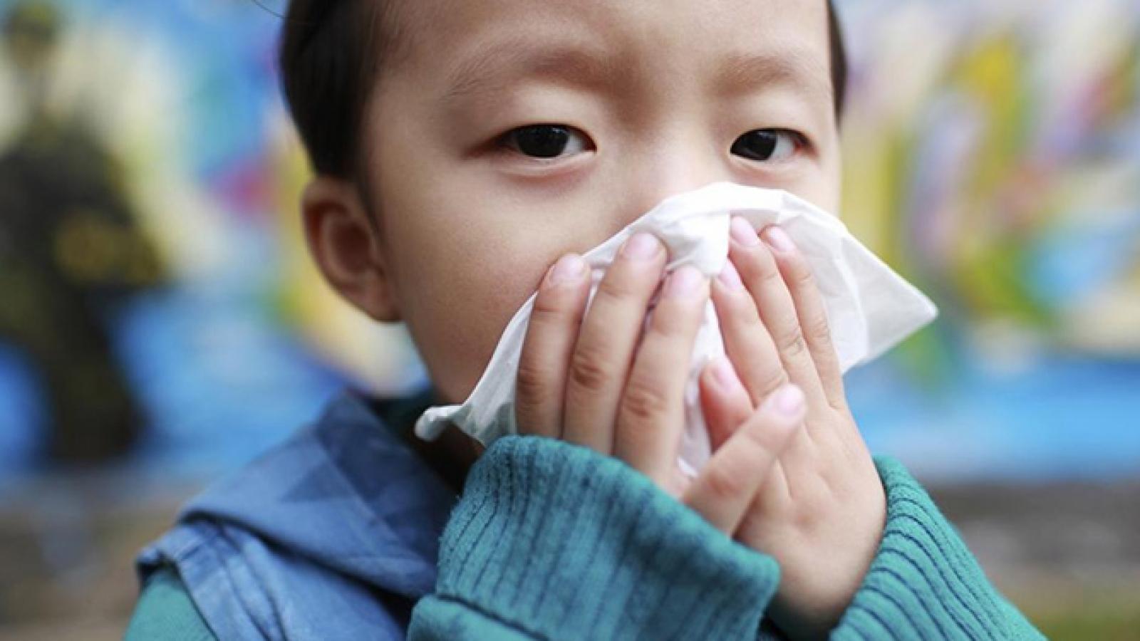 5 lời khuyên khi trẻ bị cảm lạnh