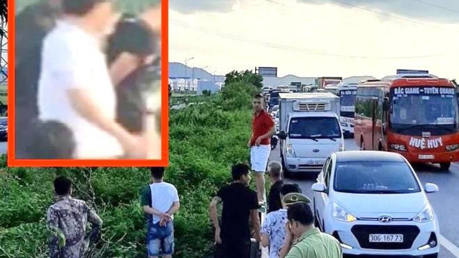 Tài xế xe bán tải tông chết cảnh sát cơ động ở Bắc Giang ra đầu thú