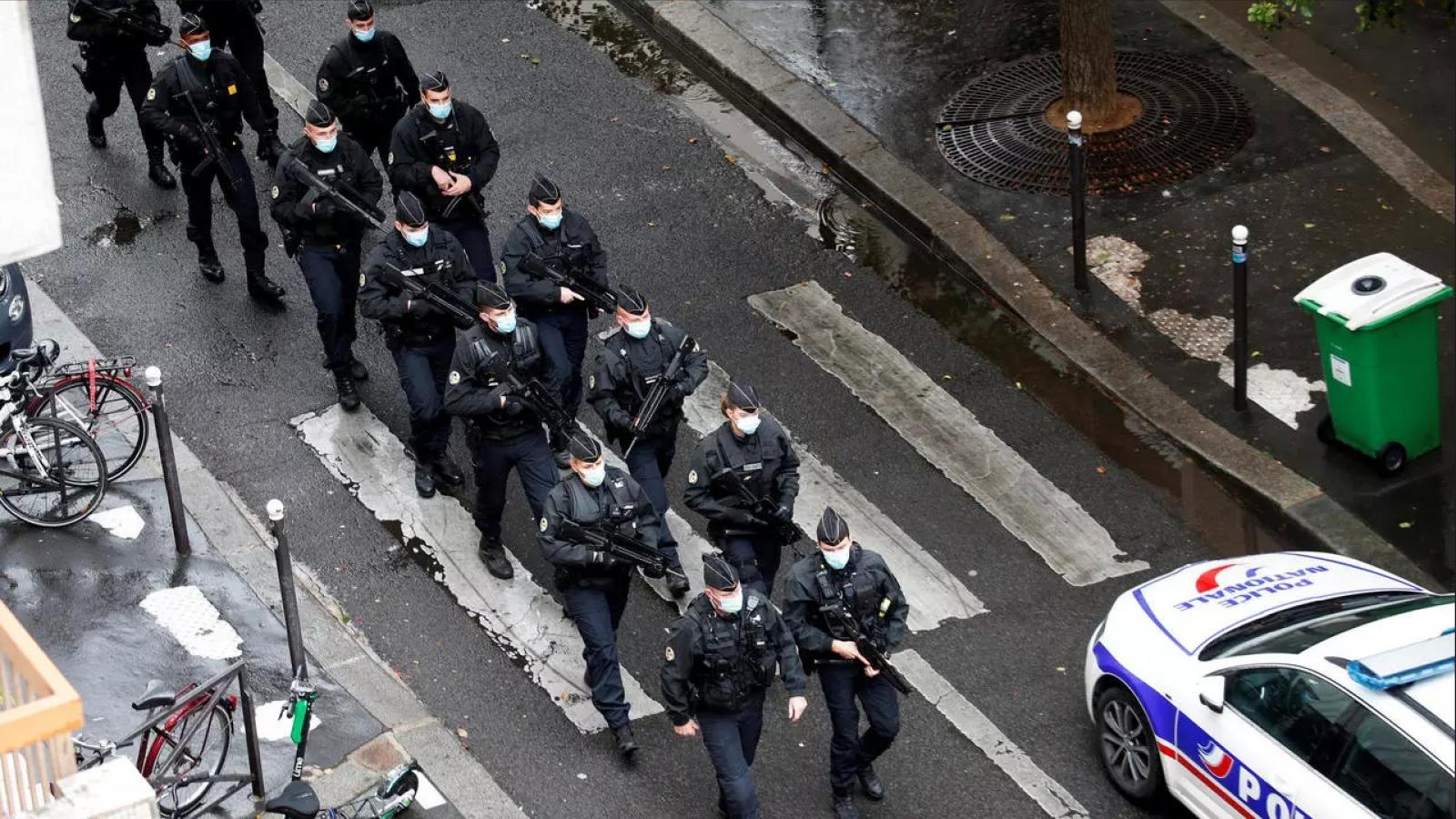 Tấn công bằng dao gần địa chỉ trụ sở cũ của tòa soạn báo Charlie Hebdo tại Paris