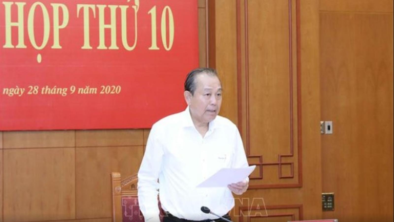 """Phó Thủ tướng Trương Hòa Bình: """"Nghiên cứu, phối hợp nâng cao chất lượng đào tạo luật sư"""""""