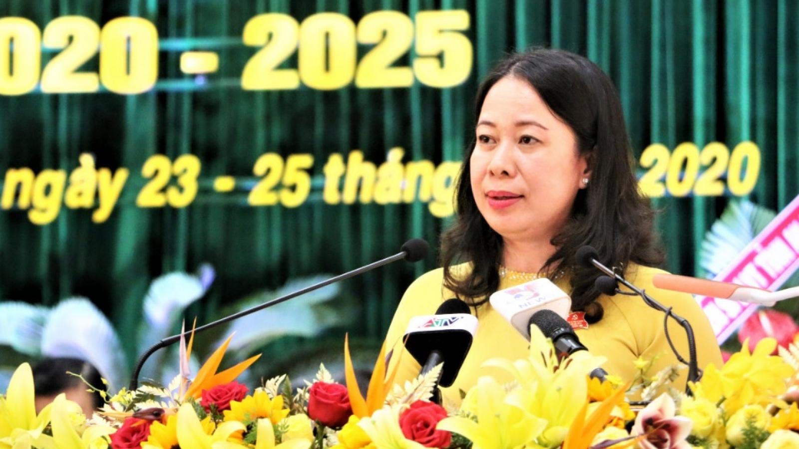 Bà Võ Thị Ánh Xuân tiếp tục giữ chức Bí thư Tỉnh ủy An Giang