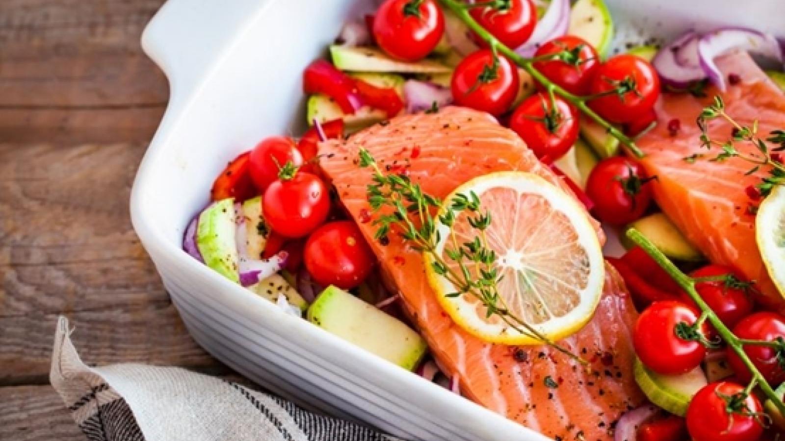 Chế độ ăn giúp bạn giảm cân, giảm mỡ bụng và bảo vệ tim mạch