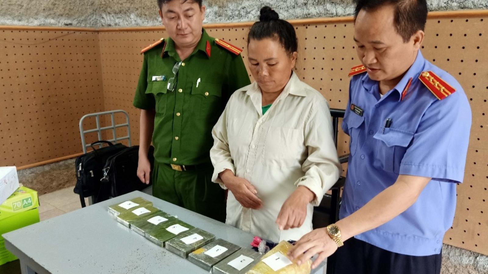 Hai đối tượng mua 7 bánh heroin và hàng nghìn viên ma túy ở biên giới Việt - Lào