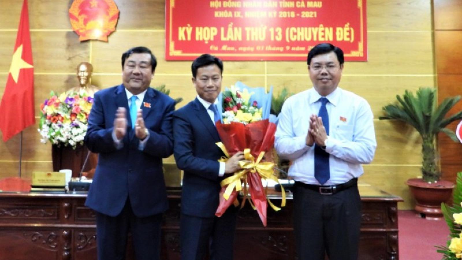 Ông Lê Quân được bầu giữ chức Chủ tịch UBND tỉnh Cà Mau