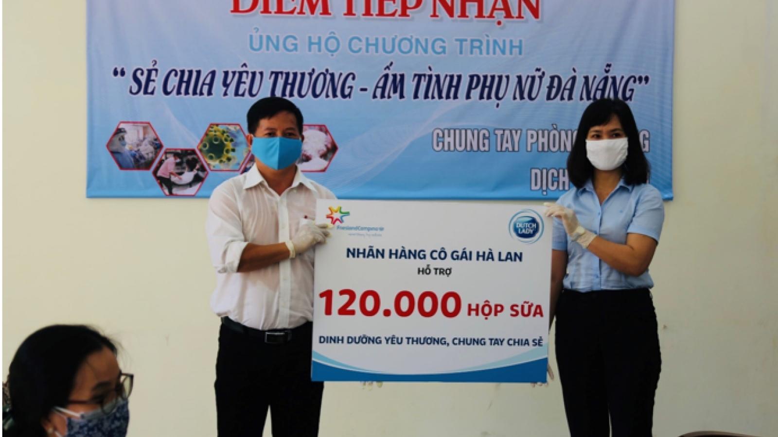 Cô gái Hà Lan chia khó cùng Đà Nẵng với hàng trăm ngàn sản phẩm sữa
