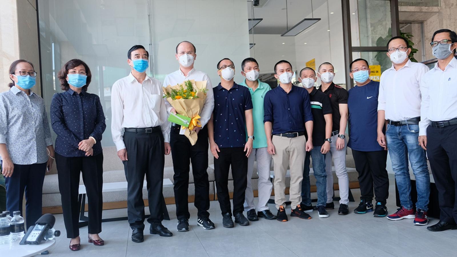 Chia tay đoàn bác sĩ TP Hồ Chí Minh sau khi dịch bệnh được khống chế