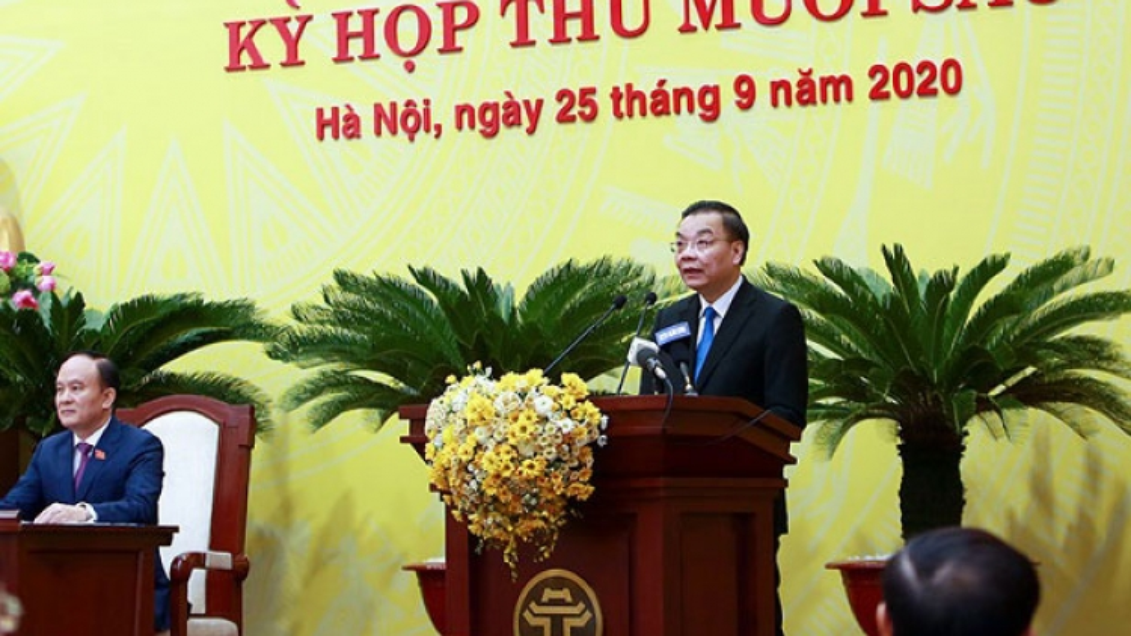 Tân Chủ tịch Hà Nội Chu Ngọc Anh: Nguyện đem hết sức mình phục vụ nhân dân