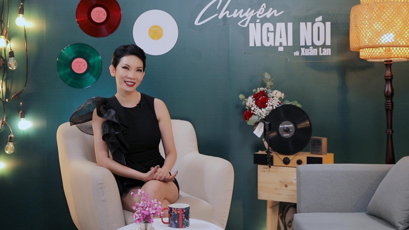 """Siêu mẫu Xuân Lan bất ngờ lên tiếng về """"kẻ thứ ba"""" sau khi kết hôn"""