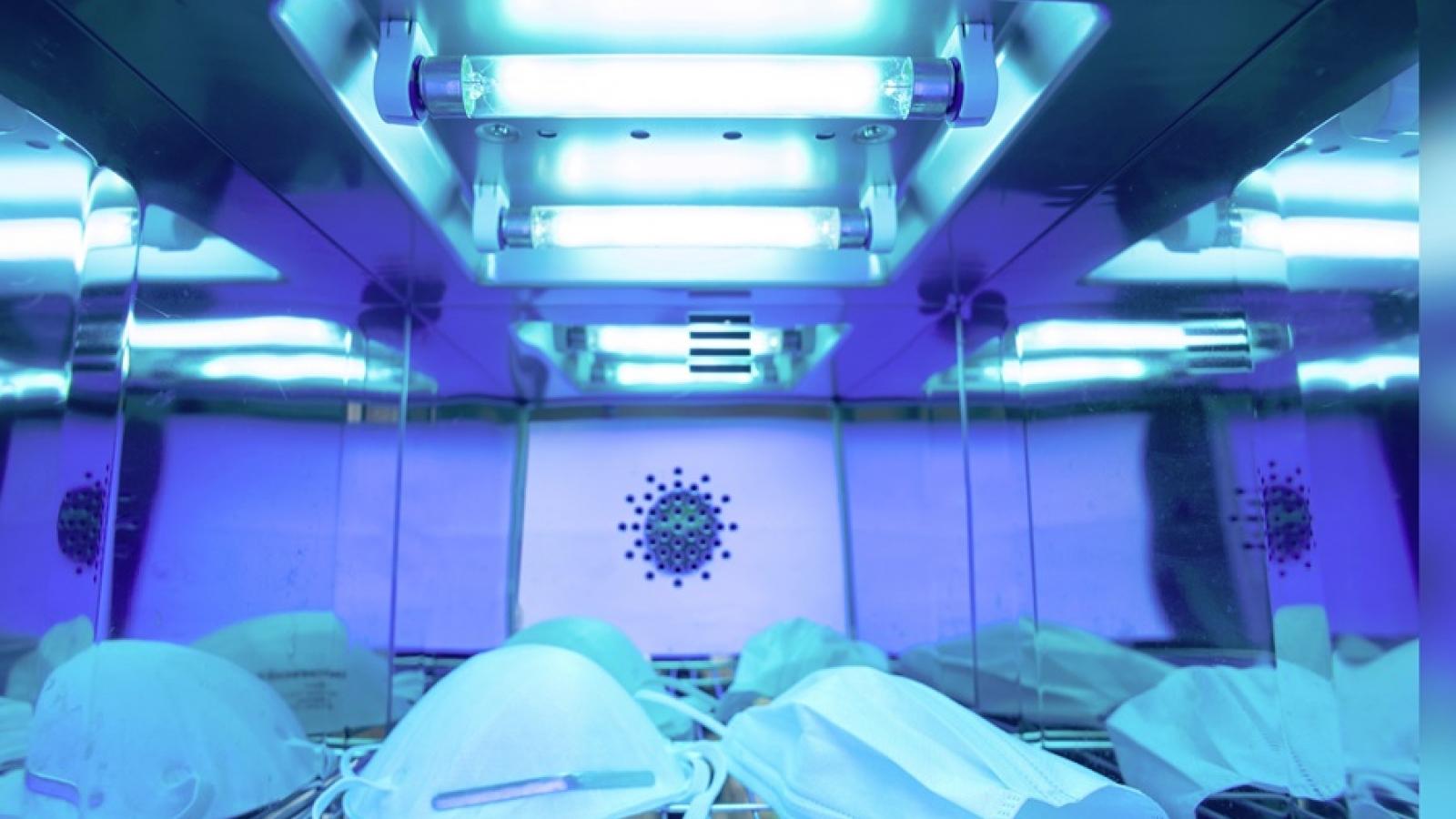 Nhật Bản dùng robot tia cực tím để tiêu diệt virus SARS-CoV-2