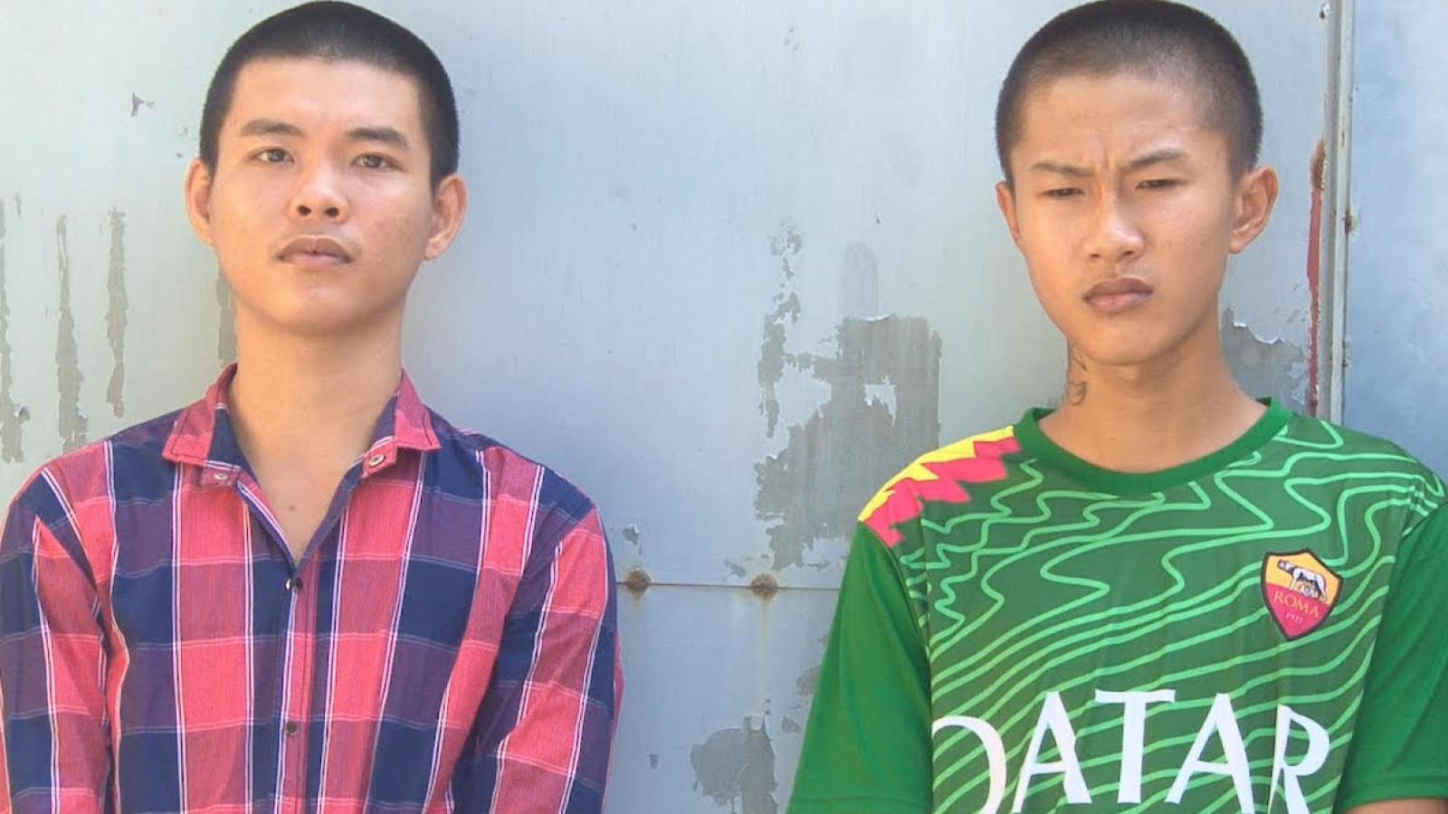 Đồng Tháp: Hai thanh niên chém người cướp xe máy lấy tiền ăn nhậu