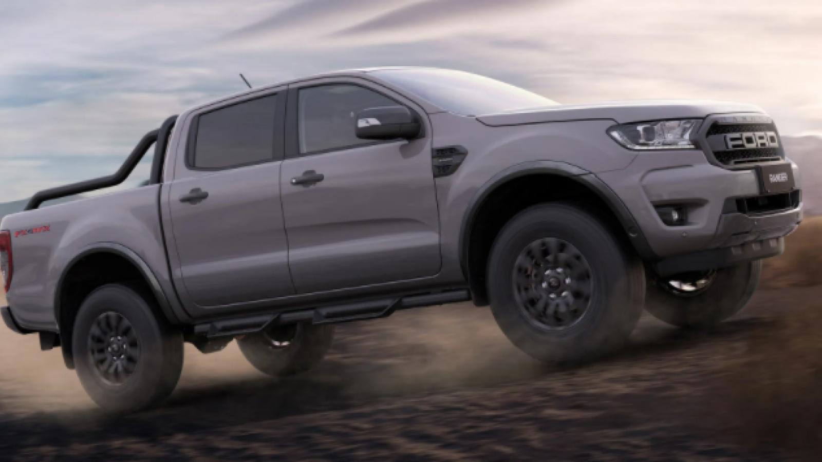 Ford Ranger FX4 MAX lấy cảm hứng từ Raptor tại Australia