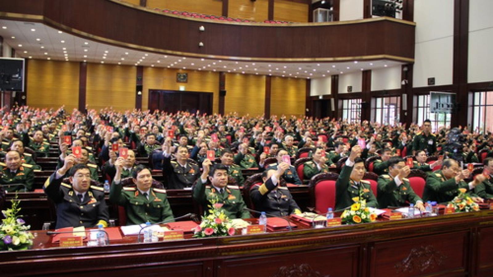 Đại hội Đảng bộ Quân đội lần thứ XI không bầu Quân ủy Trung ương