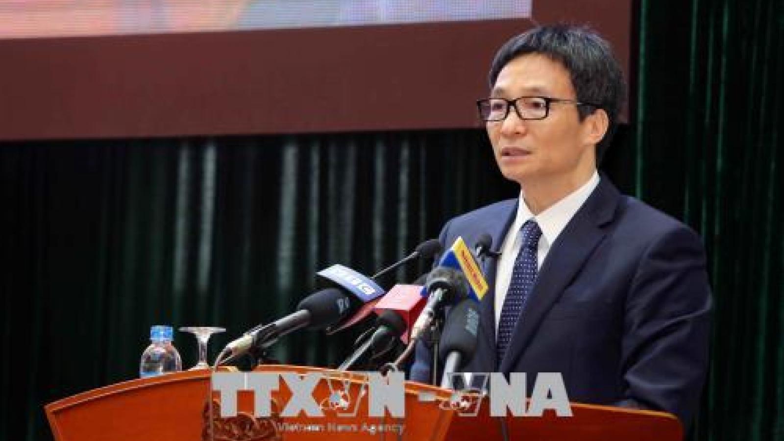 Phó Thủ tướng Vũ Đức Đam dự Đại hội Hội nghệ sỹ múa Việt Nam