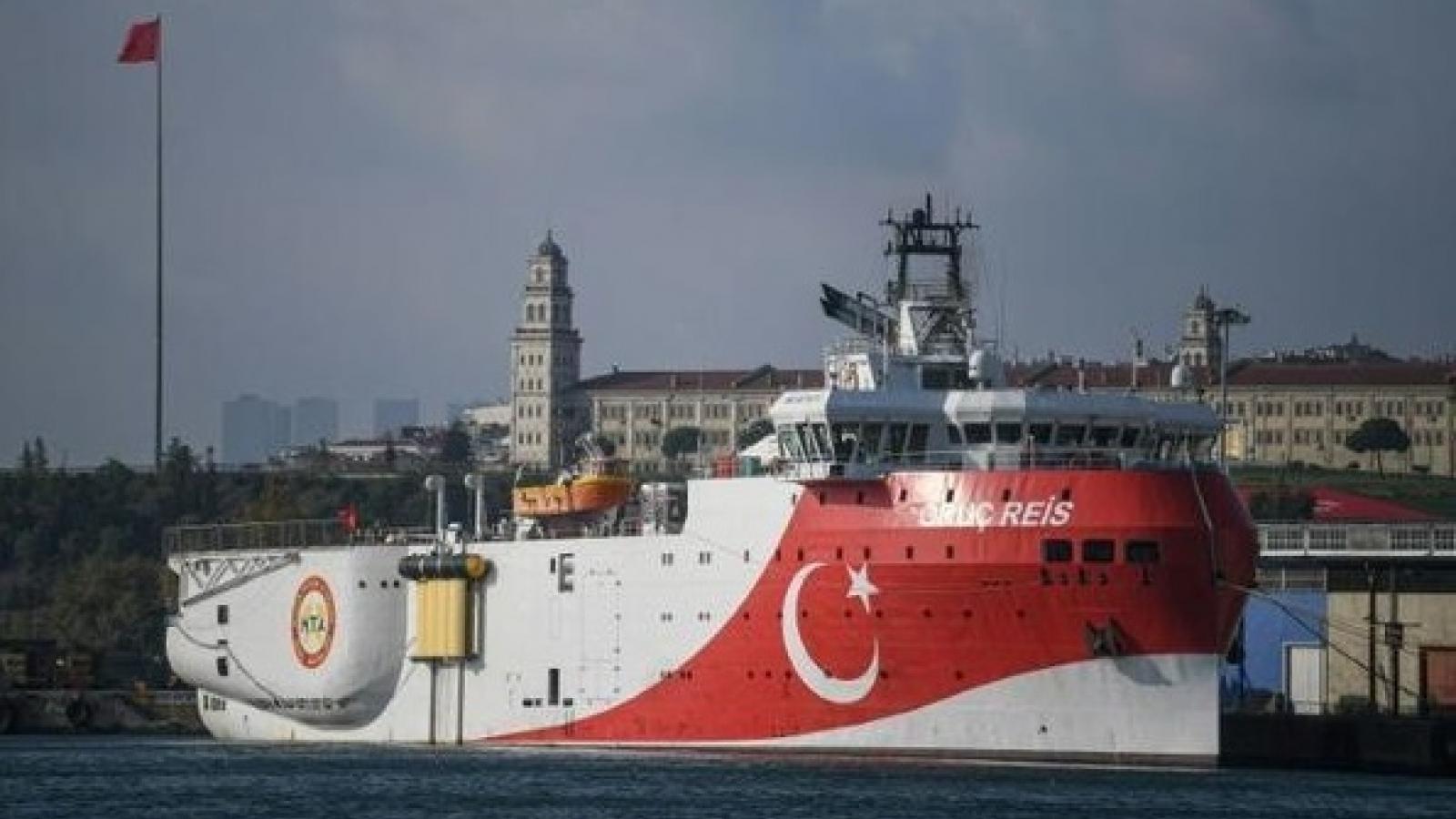 Hy Lạp và Thổ Nhĩ Kỳ đồng ý đàm phán về các tranh chấp ở Đông Địa Trung Hải