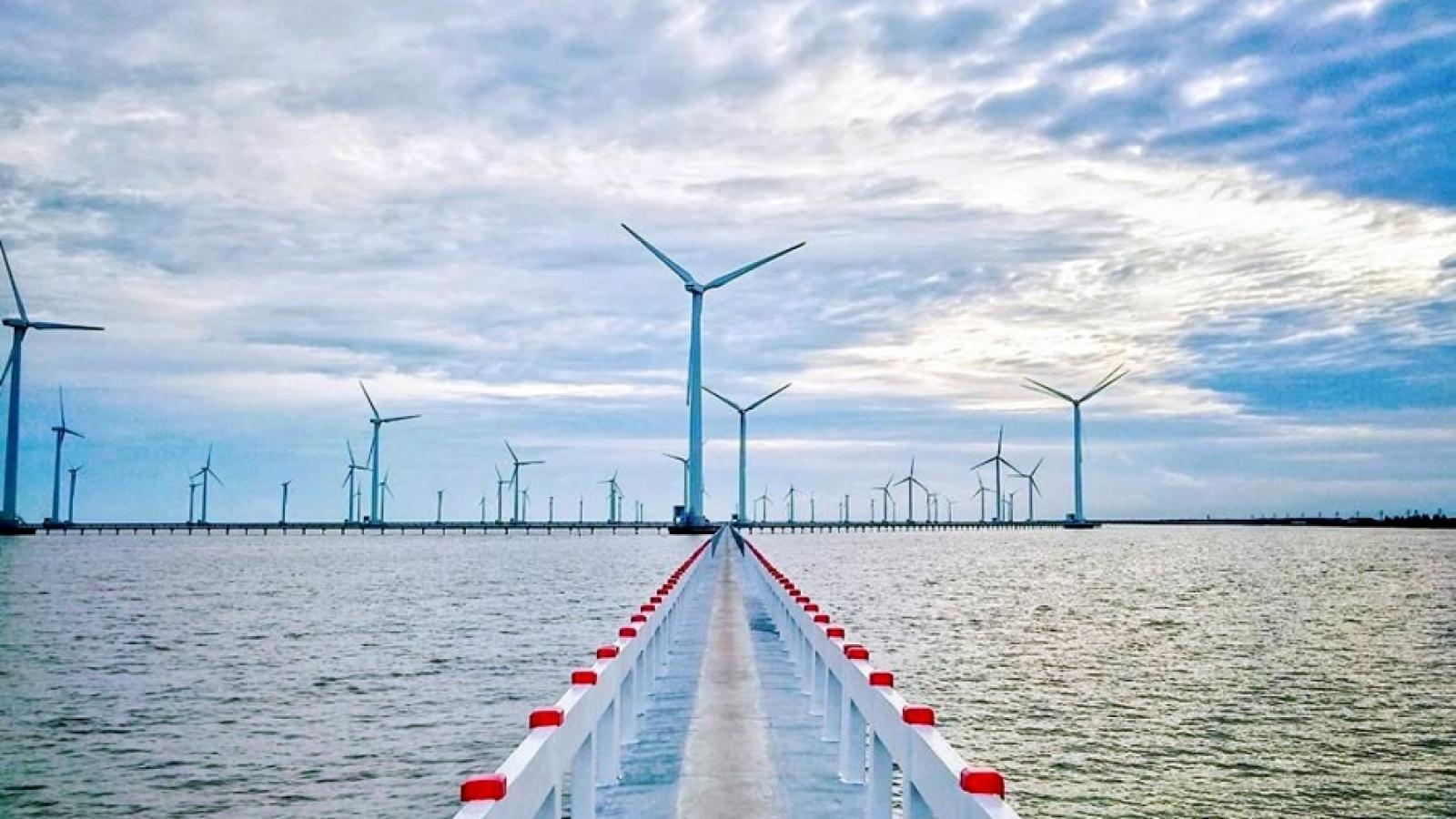 Việt Nam – Vương quốc Bỉ thử nghiệm mô hình nước từ gió