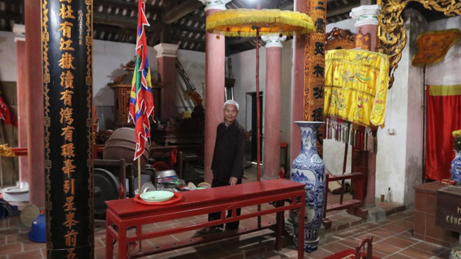 Bảo vệ di tích khỏi tình trạng mất cắp hiện vật ở Hà Nội