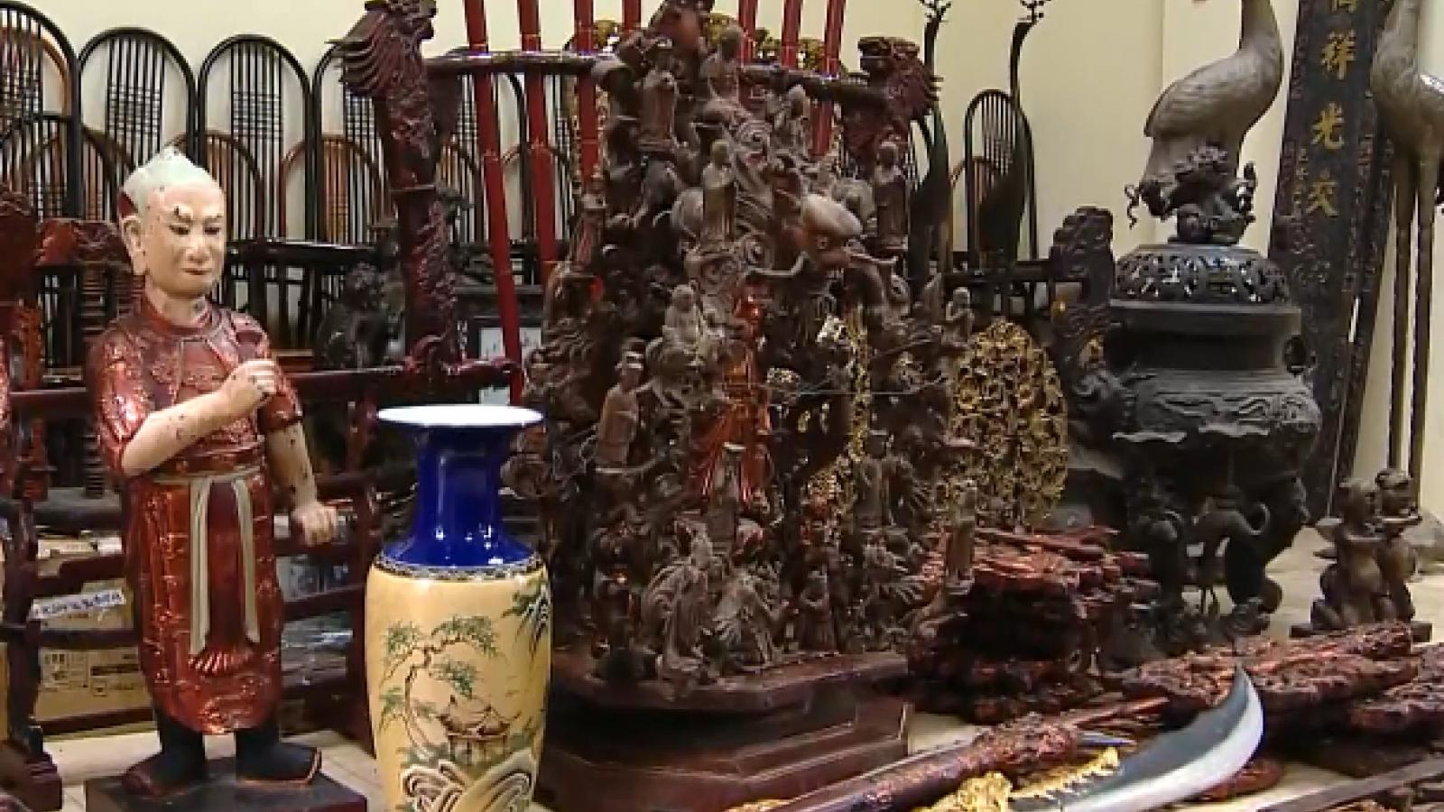 Trộm cắp cổ vật: Cả người mua và người bán đều bị xử lý