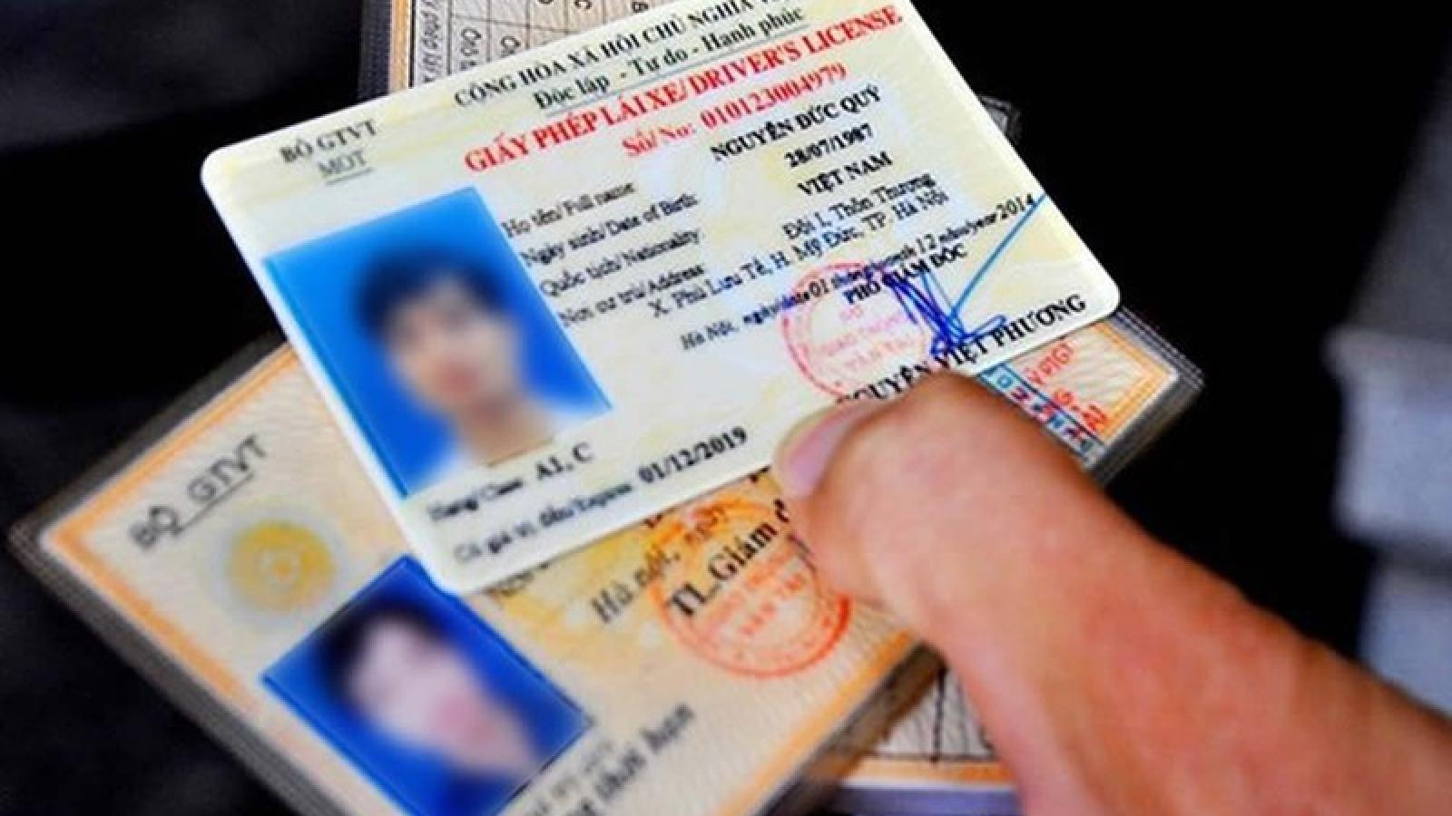 Chính phủ thống nhất ý kiến về quy định trừ điểm của giấy phép lái xe