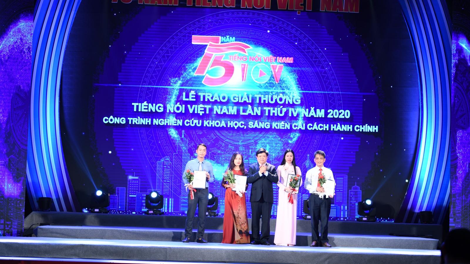 Toàn cảnh Lễ trao giải thưởng Tiếng nói Việt Nam lần thứ IV năm 2020