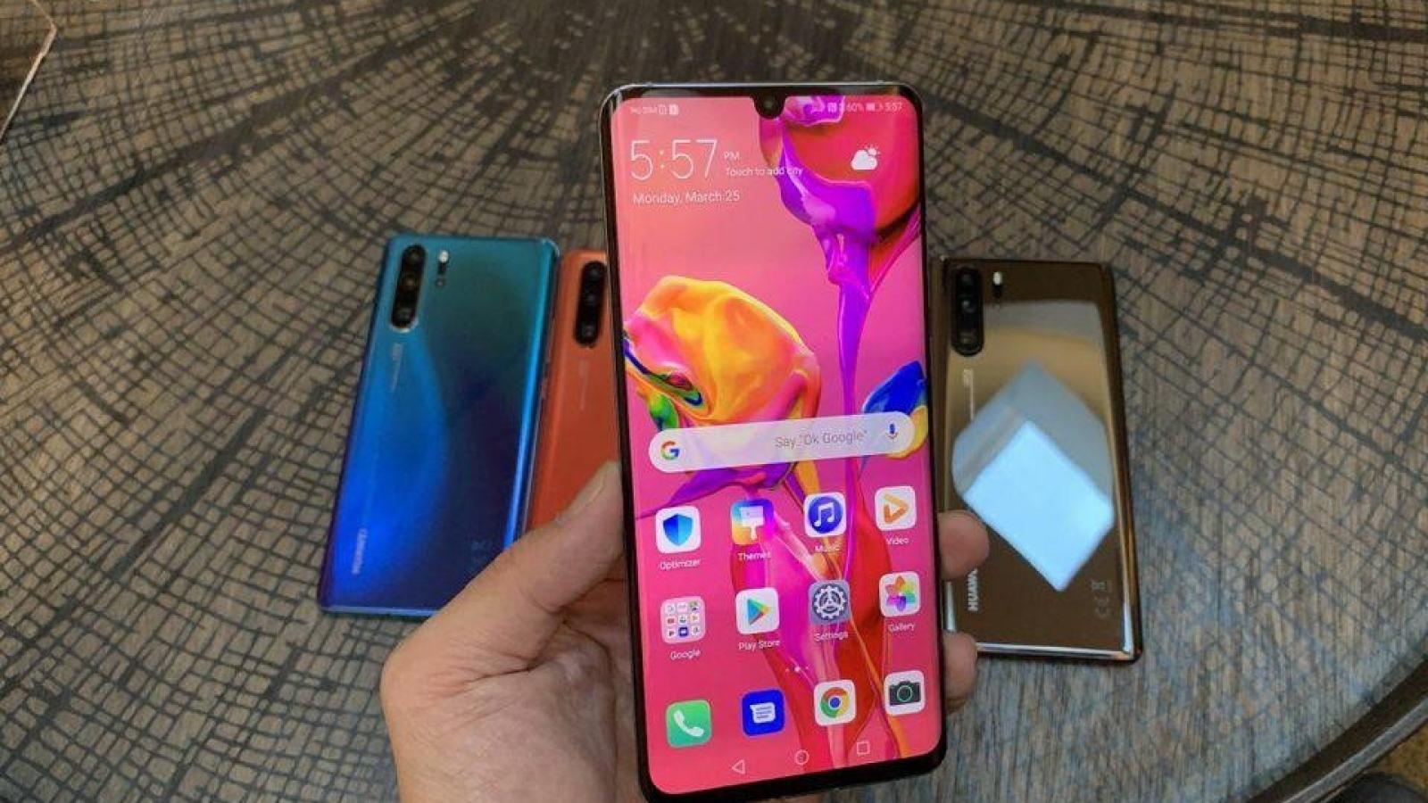 Samsung và LG ngừng cung cấp linh kiện cho Huawei từ 15/9