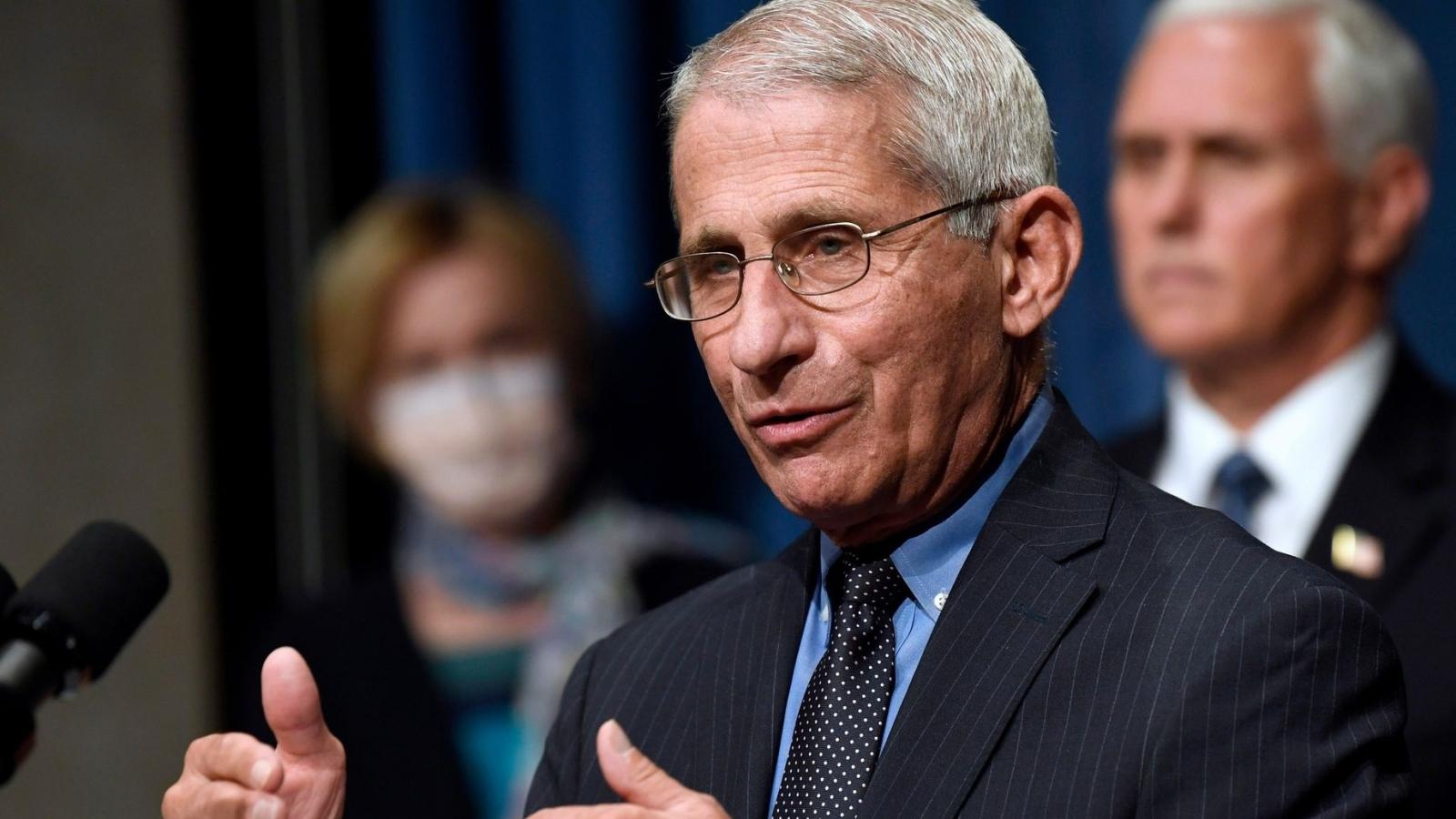 Tiến sĩ Fauci: Mỹ chưa chắc có vaccine Covid-19 trước cuộc bầu cử tổng thống