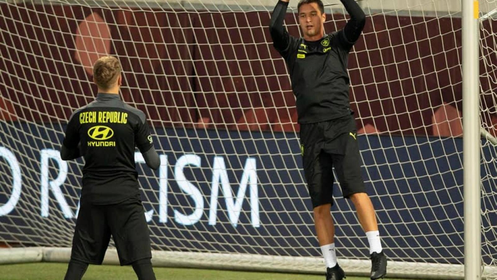 Filip Nguyễn dự bị cả trận cho CH Séc, còn nguyên cơ hội khoác áo ĐT Việt Nam
