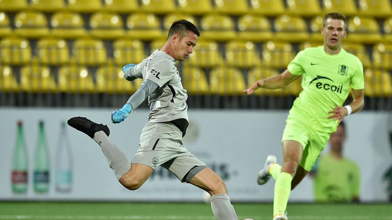 Filip Nguyễn lần đầu được đá vòng bảng Europa League cùng Slovan Liberec