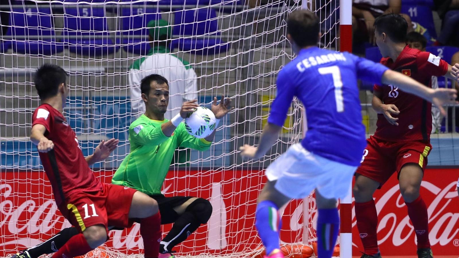 Ngày này năm xưa: ĐT Futsal Việt Nam lần đầu vượt qua vòng bảng World Cup