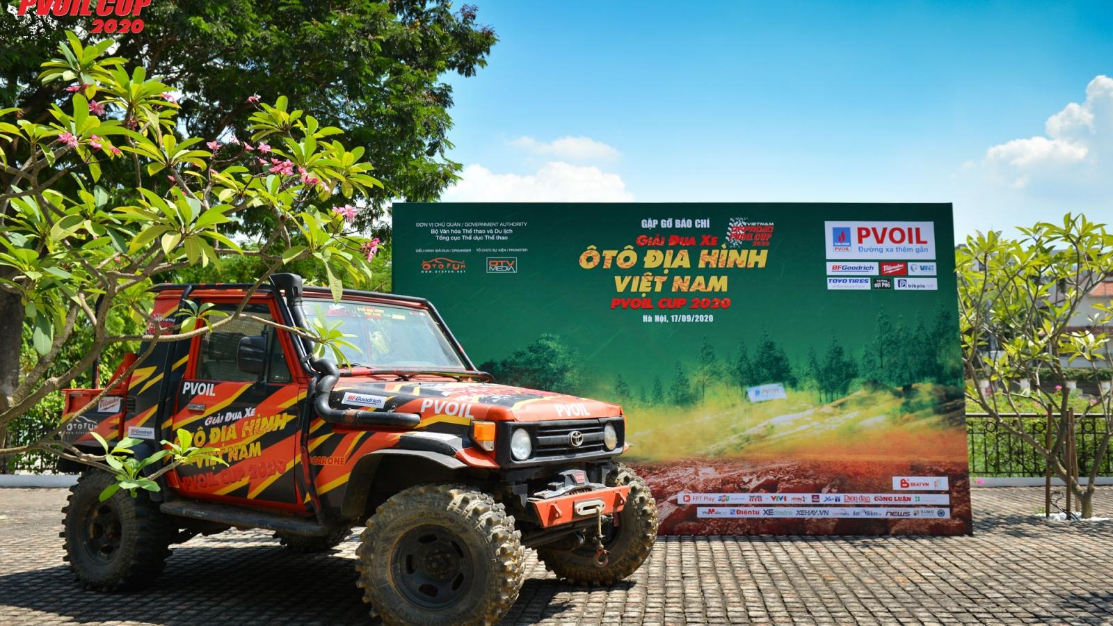 80 đội tham dự Giải đua xe ô tô địa hình Việt Nam 2020
