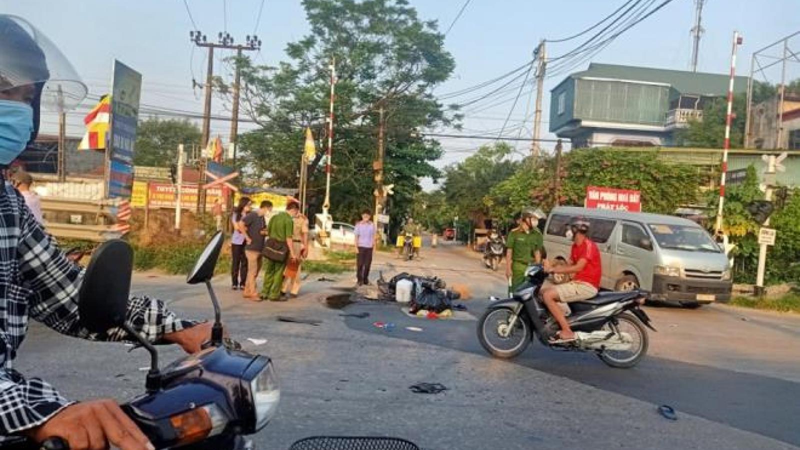 Truy tìm tài xế ô tô gây tai nạn chết người rồi bỏ trốn ở Hà Nội