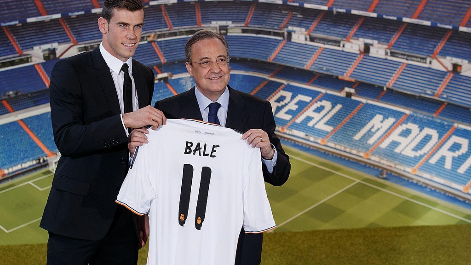 Ngày này năm xưa: Real Madrid mua Gareth Bale với mức giá kỷ lục thế giới