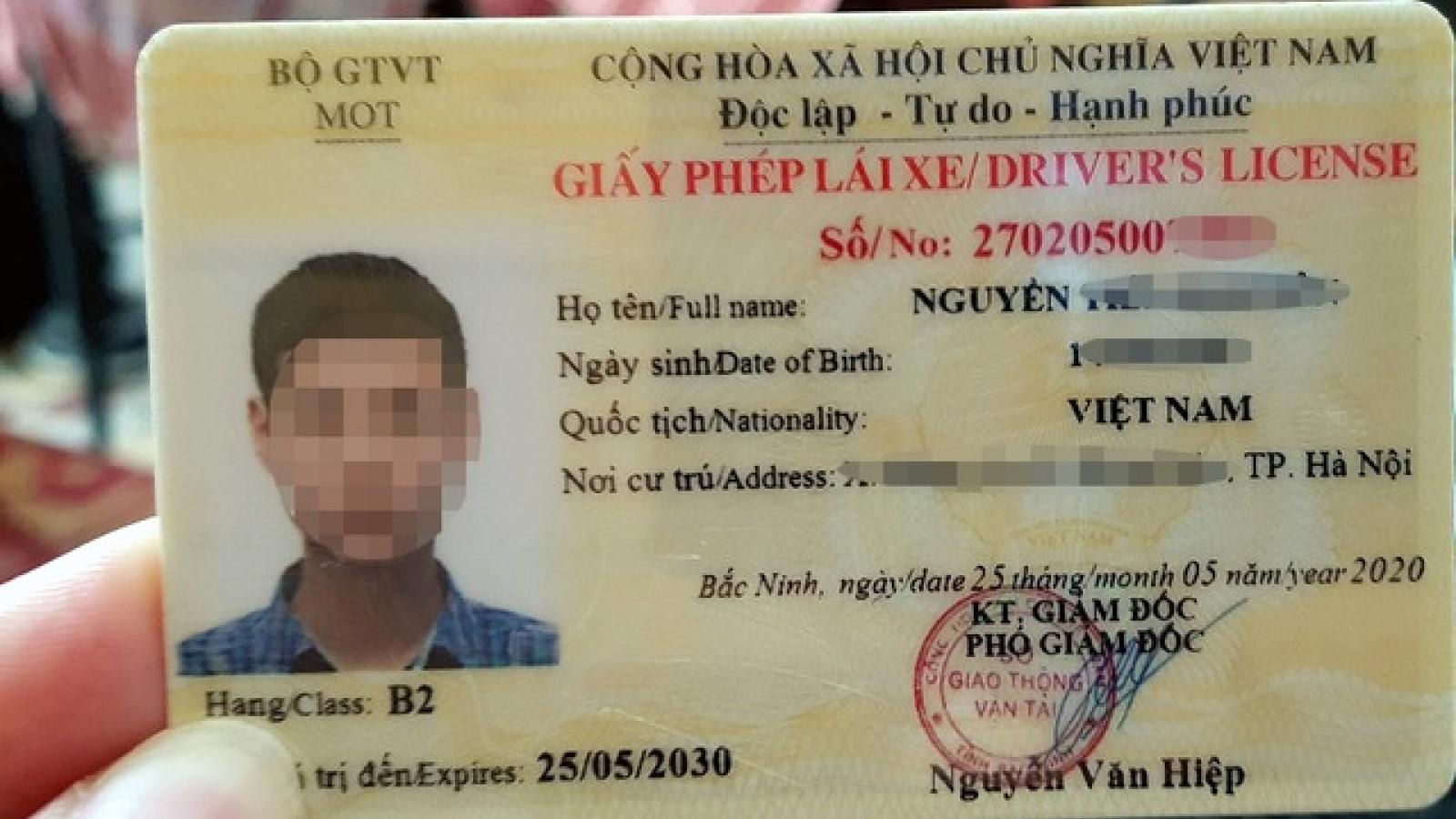 Những lỗi vi phạm nào sẽ bị trừ điểm vào Giấy phép lái xe?