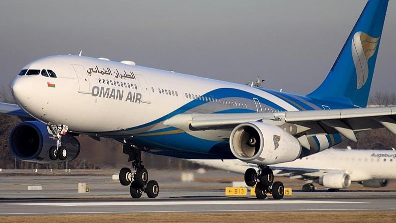 Oman mở lại các đường bay quốc tế từ ngày 1/10