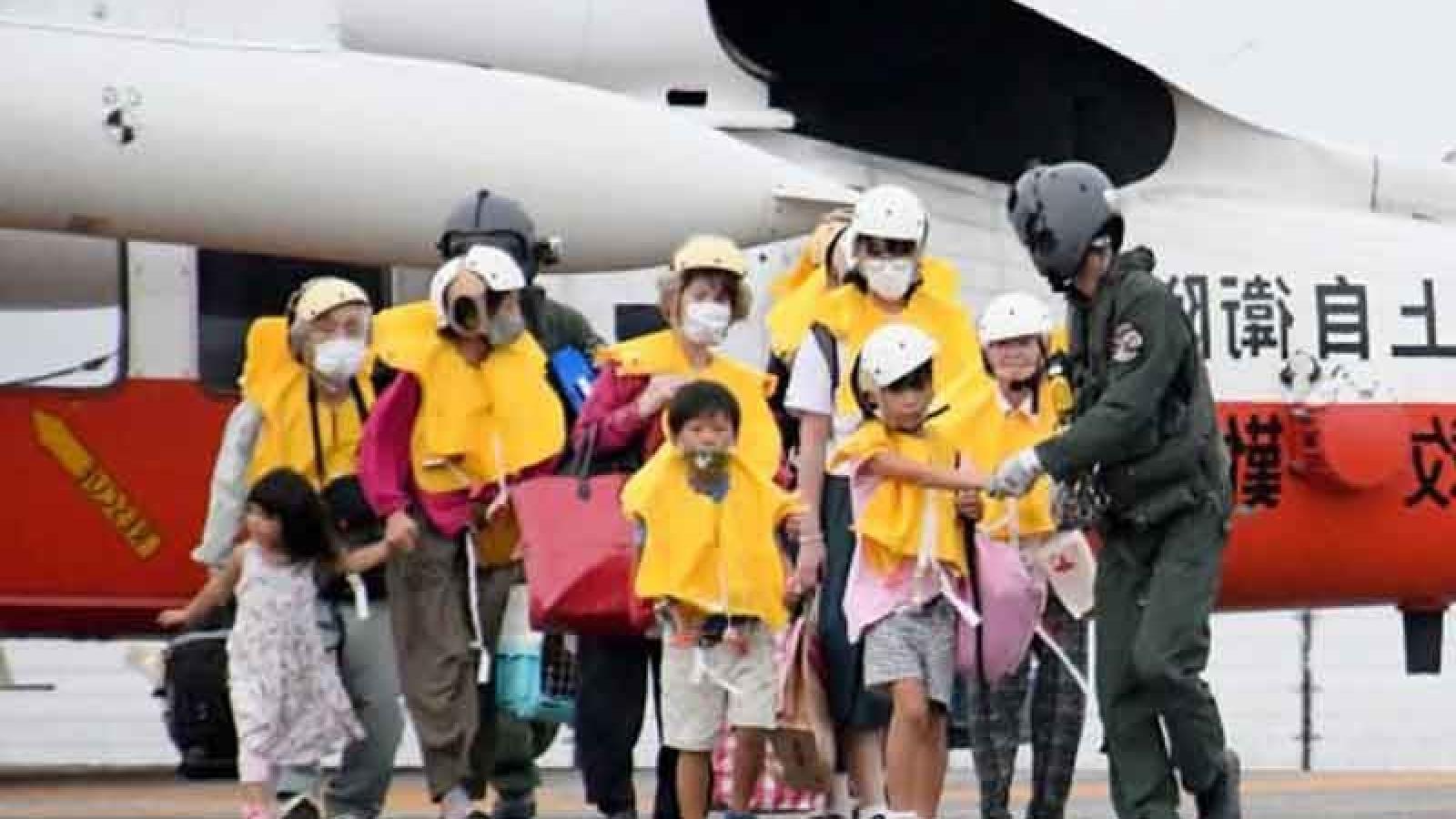 Nhật Bản sơ tán hàng nghìn người do ảnh hưởng của bão Haishen