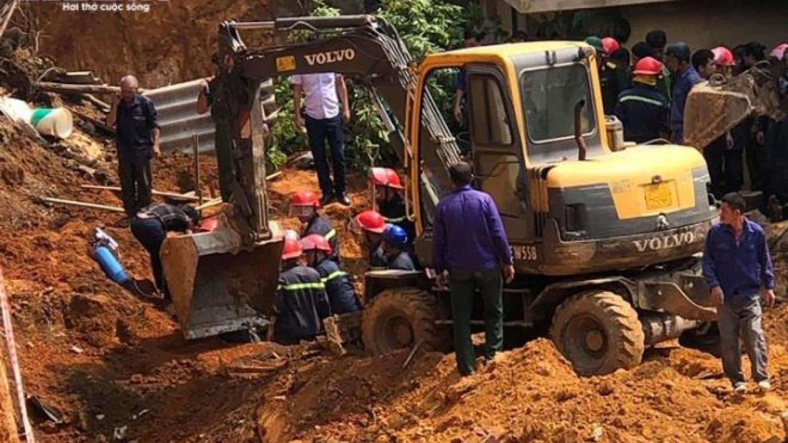 Khởi tố vụ án sập taluy làm 4 người thiệt mạng ở Phú Thọ