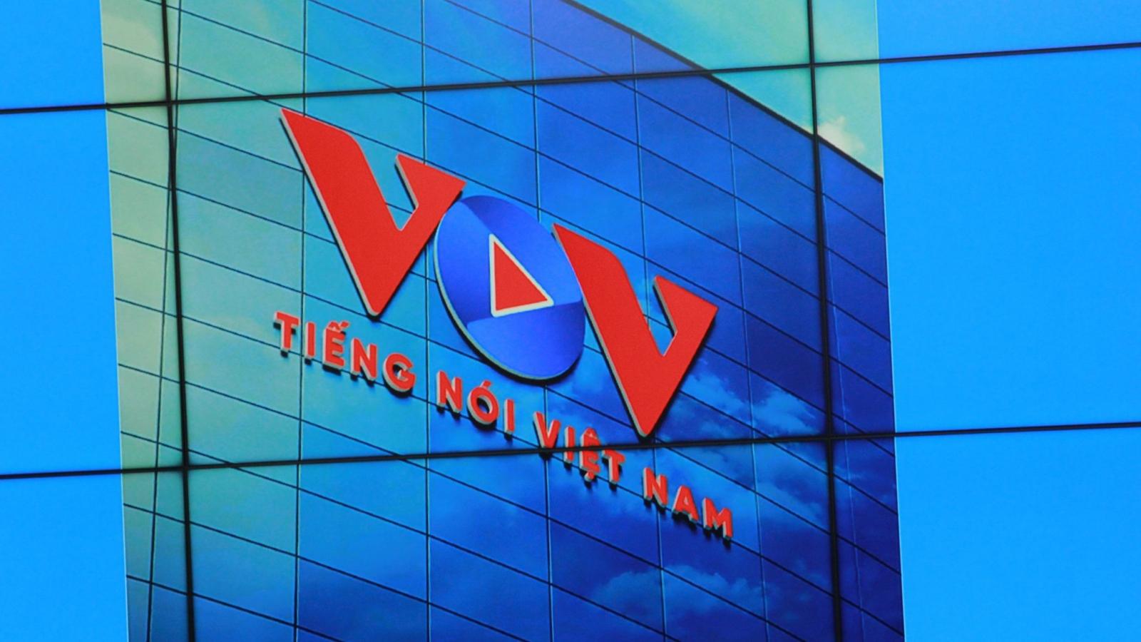 VOV họp báo công bố bộ nhận diện mới nhân 75 năm thành lập